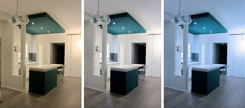 Luce calda o luce fredda architetto online ornella vaudo - Meglio luce calda o fredda in cucina ...