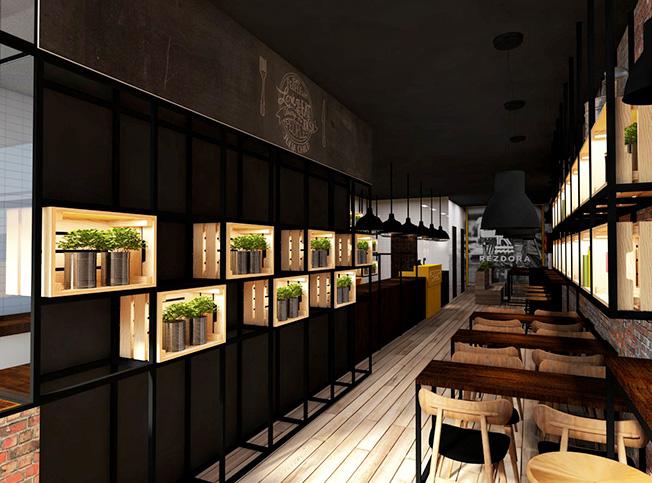 Latest interior design ristorante with architetti online for Architetto di interni roma