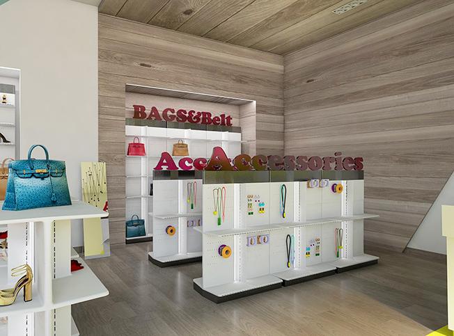 Super Architetto online | Allestimento negozio calzature | Arredi di interni LU36