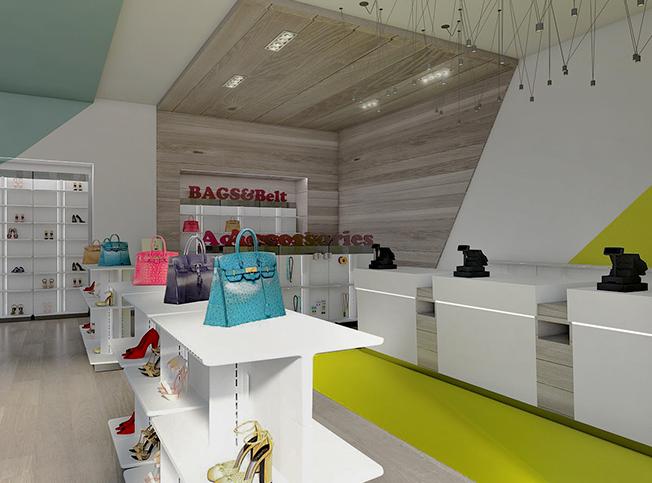 Awesome allestimento negozio scarpe gg28 pineglen for Negozi design online