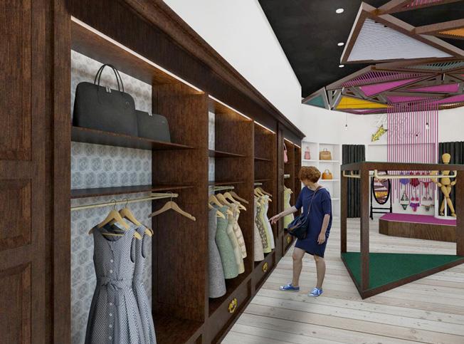 Architetto online interior design progetto negozio for Architetto on line