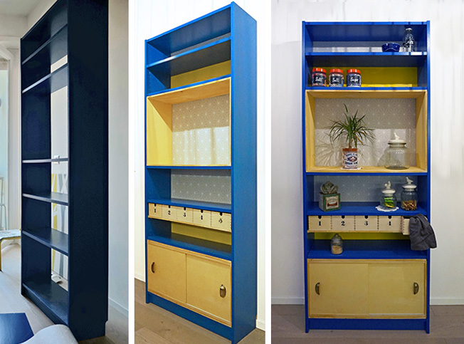 Credenza Libreria Ikea : Idee creative e facili per modificare i mobili ikea grazia