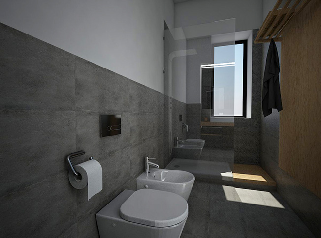 Architetto online progetto casa online arredi di interni - Progetto bagno online ...