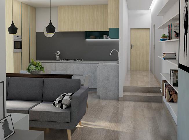 Architetto online divisione appartamento arredamento for Architetto interni on line