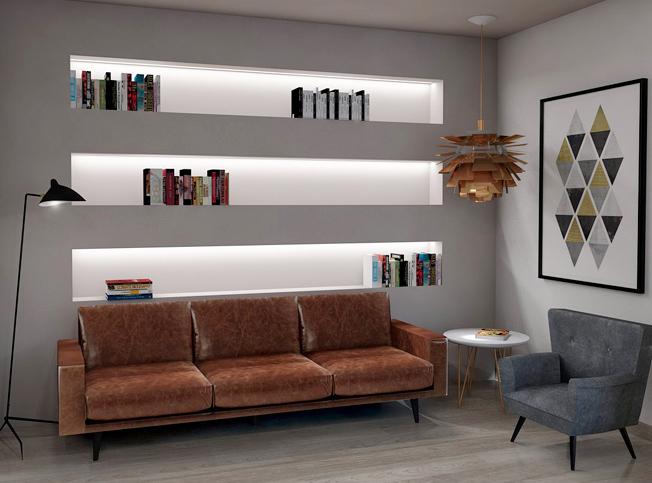 Architetto online divisione appartamento arredamento for Arredamento appartamento completo