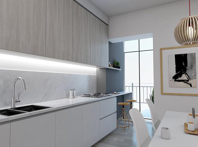 Architetto online | Divisione appartamento | Arredamento di interni
