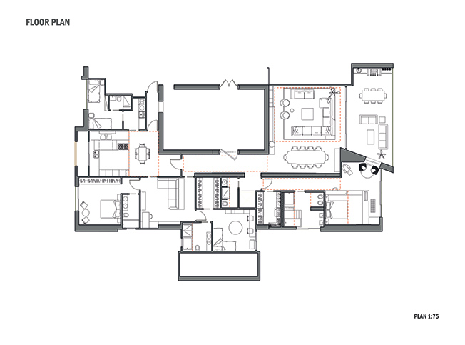 Architetto online progetto casa al mare arredi e for Disegni mobili