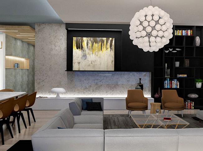 Architetto online progetto casa al mare arredi e disegno di mobili