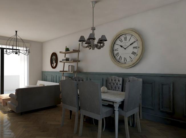 Architetto online progetto casa stile provenzale for Case arredate in stile provenzale