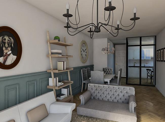 Architetto online progetto casa stile provenzale for Arredo provenzale on line