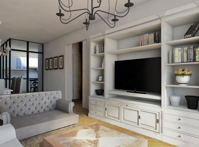 Architetto online progetto casa stile provenzale for Progetto arredamento online