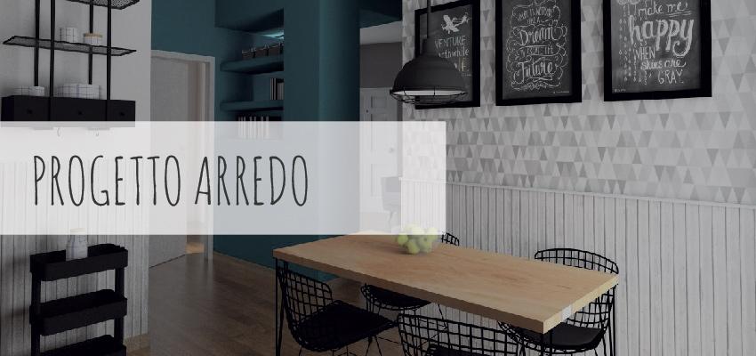 Architetto online   Progetto arredo online   Render e scelta materiale